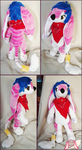 Alice Anthro Plush by La-Luuciole
