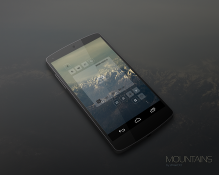 Mountains by marcco23