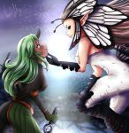 Speed Art: Cecilia and Airy by Vesenia