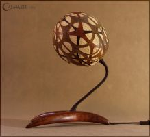 Table lamp XV - String Structure by Calabarte