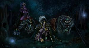 Chasing Illidan step by step. by OliverFord