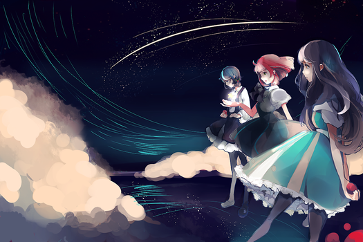 The Oposses PV art by KyouKaraa