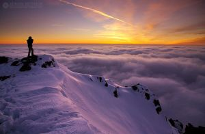 Over the clouds II by adypetrisor
