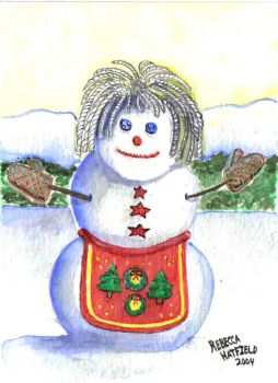 Granny Snowpeople series 3of5 by SwDreamWvr