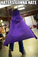 Haters gonna hate - Eridan Cosplay - Homestuck by Mitternachto