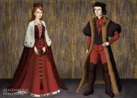King Richard III and Queen Anne Neville by MoonMaiden37
