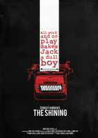 The Shining poster by O-nay
