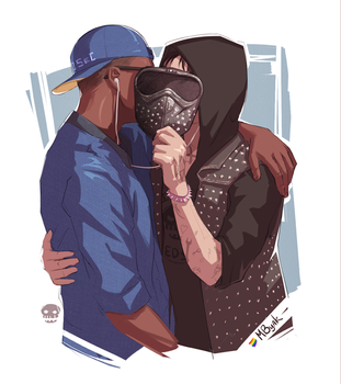 Marcus/Wrench | Watch Dogs 2 by MByak