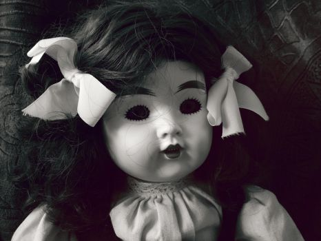 An Old German Doll by hhannie