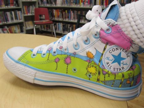 Lorax Chucks by irishgirl1984