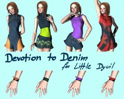 Devotion to Denim: LittleDyvil by Anglu