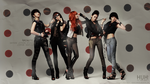 4Minute Wallpaper ~ 2 sizes by xSparklyVampire