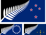 Flags of New Zealand and its associated states by hosmich