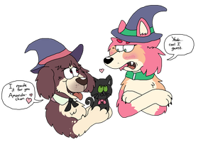 Little Woof Academia by Critterz11