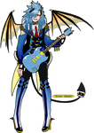 [CLOSED] Demon Guitarist [InfernalEnsemble adopts] by azume-adopts