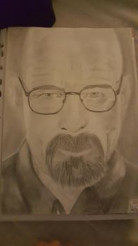 Walter White from Breaking Bad by bpmha