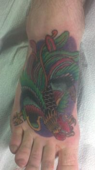 My Latest Ink- completed by ShamDaddy