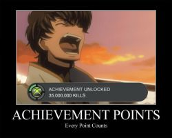 Achievement Points by OrneryAmerican