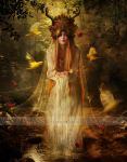 Lady of the Forest by Le-Regard-des-Elfes