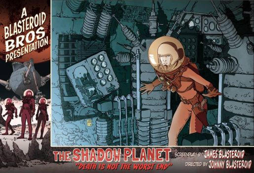 The Shadow Planet Lobby Card 4 by RadiumProject