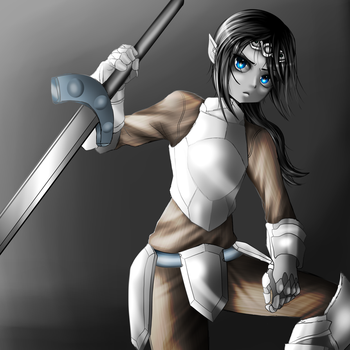 Vahl the Young Warrior by FlyingPings