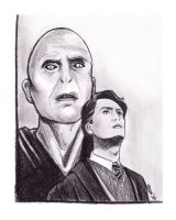 Lord Voldemort by Elezar81