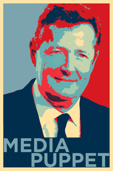 Piers Morgan - Media Puppet by OpPaperStorm