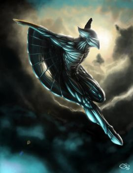 Silverhawks Quicksilver by edsfox