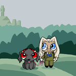 Integrapuff and Alupuppy by ErinPtah