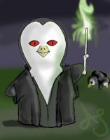 HP Penguins- Voldemort by Akei-Tyrian