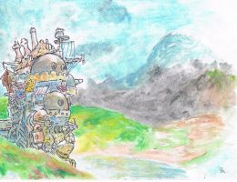 Howl's Moving Castle~ by samui153