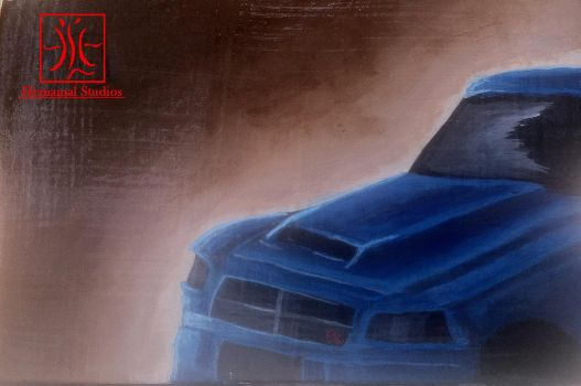 Blue Charger by Hemamal