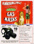 Atomic Ads - MILEMCO Gas Masks by ghostfire