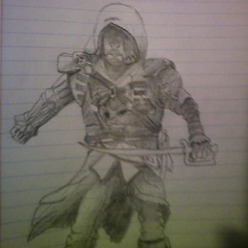 Edward Kenway- Illustrated by TheOnlyColonelLuke by TheOnlyColonelLuke