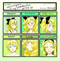 Lilly's Hairstyle Chart by magicalondine