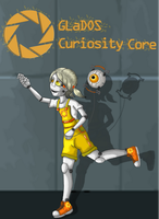 GLaDOS Curiosity Core by TomoGeminiLion