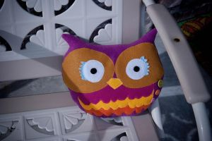 Owl Pillow by someweirdcrab