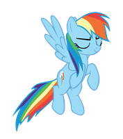Rainbow Dash (That's Right) by Hendro107