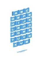 Typography (blue) by pixel-junglist