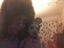 me and my puppy by JadeLila