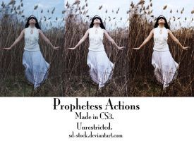 Prophetess Actions by sd-stock