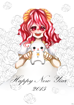 Happy new year 2015 by oom-chocolate