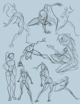 Quick Studies by RagingBarbarian