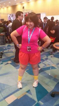 Dora the explorer cosplay by Shippuden23