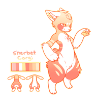 Sherbet Corgi Suit Design (CLOSED) by Senyuri