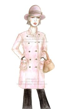 Pink Trench by wyrie