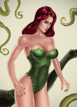 Poison Ivy by Artdevangins