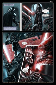 Star Wars vs Aliens - short story - Page 5 of 6 by Robert-Shane