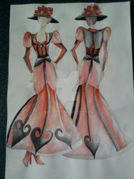 Design for musical/ Spring 2012 by AdelKitty