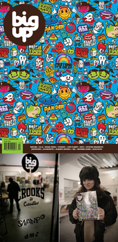 Big Up Magazine Issue 5. by j3concepts